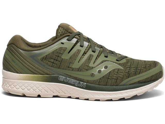 saucony Guide ISO 2 Chaussures Homme, olive shade